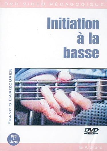 DVD - Initiation A la Basse - Françis Darizcuren - laflutedepan.com