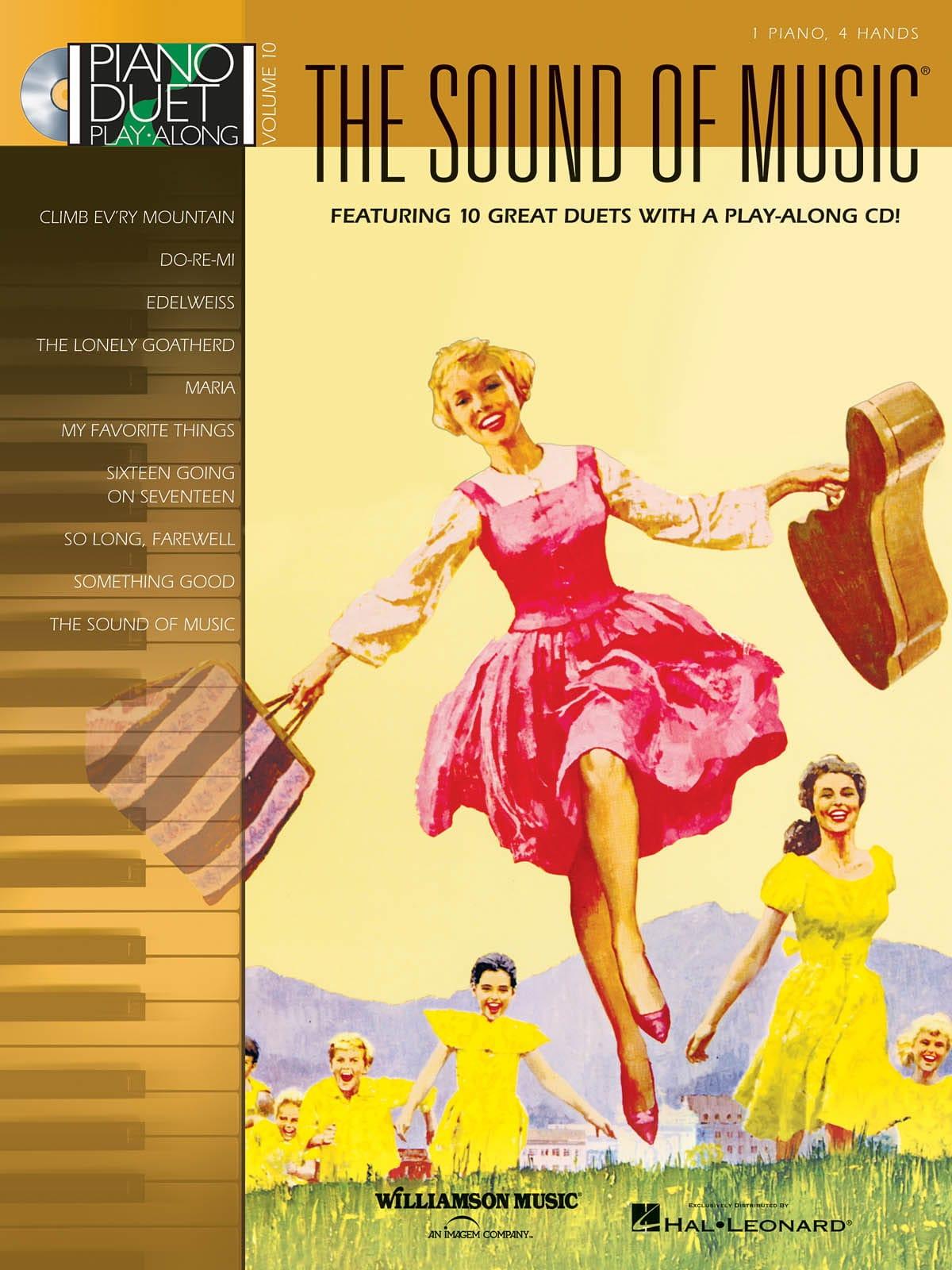 Piano Duet Play-Along Volume 10 - The Sound Of Music - laflutedepan.com
