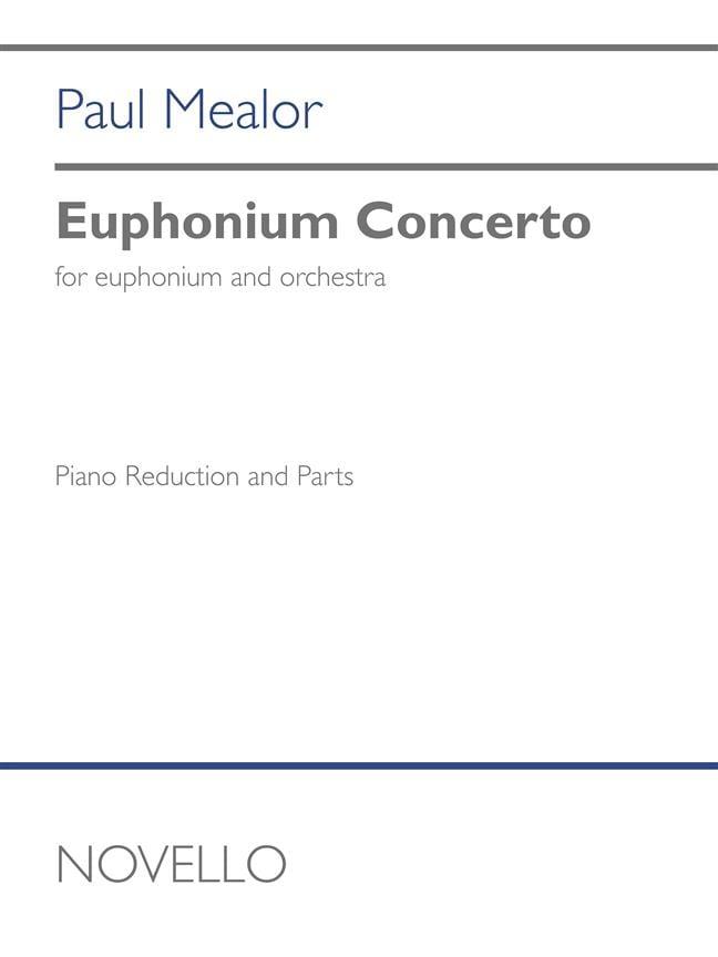Euphonium Concerto - Paul Mealor - Partition - Tuba - laflutedepan.com