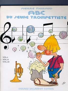 ABC du Jeune Trompettiste Volume 2 Pierre Thibaud laflutedepan