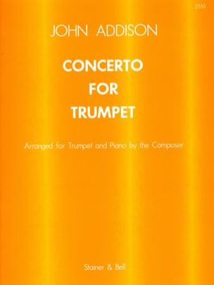 Concerto For Trumpet John Addison Partition Trompette - laflutedepan