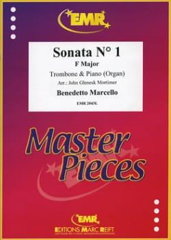 Sonata N°1 in F Major Benedetto Marcello Partition laflutedepan