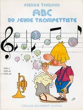 ABC du Jeune Trompettiste Volume 3 Pierre Thibaud laflutedepan
