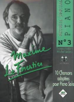 Maxime Le Forestier - Collezione speciale per pianoforte n. 3 - Partition - di-arezzo.it