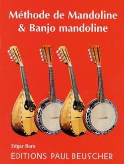 Méthode de Mandoline & Banjo Mandoline Edgar Bara laflutedepan