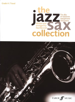 The jazz sax collection Ned Bennett Partition Saxophone - laflutedepan
