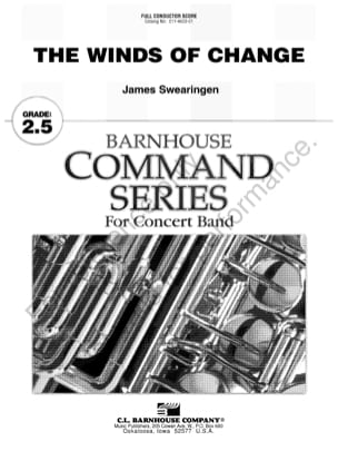The Winds of Change - James Swearingen - Partition - laflutedepan.com