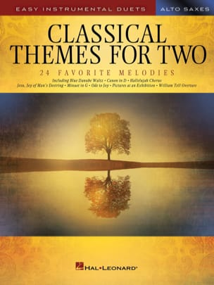 Classical Themes for Two Alto Saxophones Partition laflutedepan