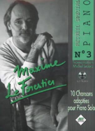 Recueil Spécial Piano N° 3 - Maxime Le Forestier - laflutedepan.com