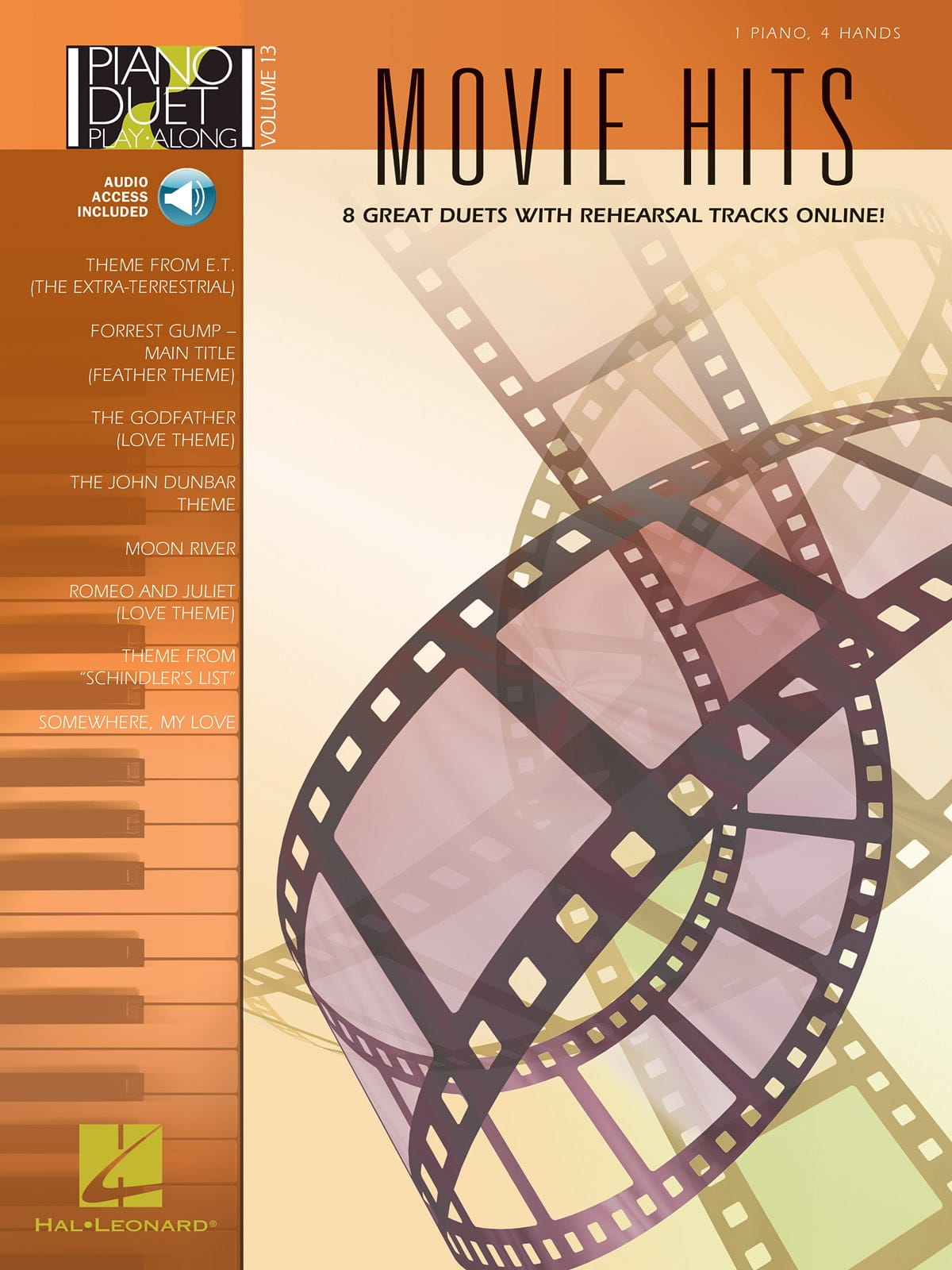 Piano Duet Play-Along Volume 13 - Movie Hits - laflutedepan.com