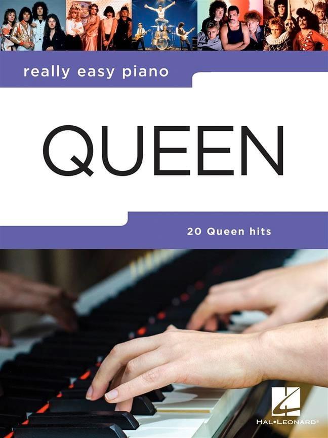 Really Easy Piano - Queen - Partition - Pop / Rock - laflutedepan.com