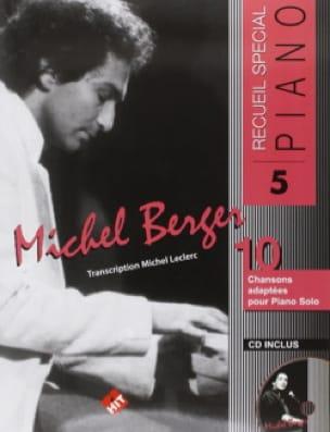 Recueil Spécial Piano N° 5 - Michel Berger - laflutedepan.com