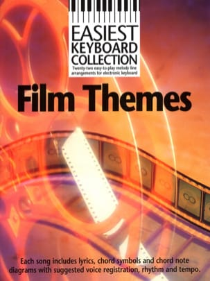 Easiest Keyboard Collection - Film Themes Partition laflutedepan