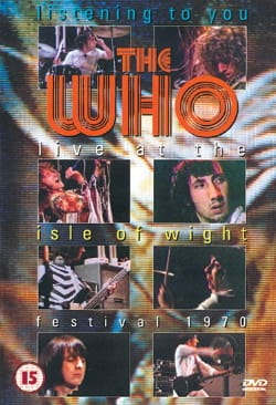 DVD - Live At The Isle Of Wight - The Who - laflutedepan.com