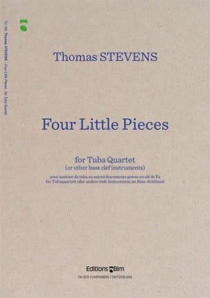 Four Little Pieces Thomas Stevens Partition Tuba - laflutedepan