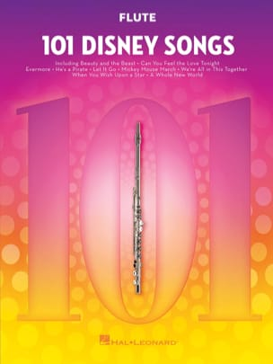 101 Disney Songs DISNEY Partition Flûte traversière - laflutedepan
