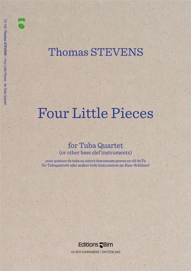 Four Little Pieces - Thomas Stevens - Partition - laflutedepan.com