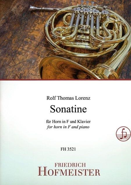 Sonatine - Rolf Thomas Lorenzo - Partition - Cor - laflutedepan.com