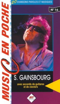 Music en poche N° 16 Serge Gainsbourg Partition laflutedepan