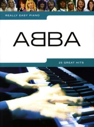 Really easy piano - ABBA - ABBA - Partition - laflutedepan.com
