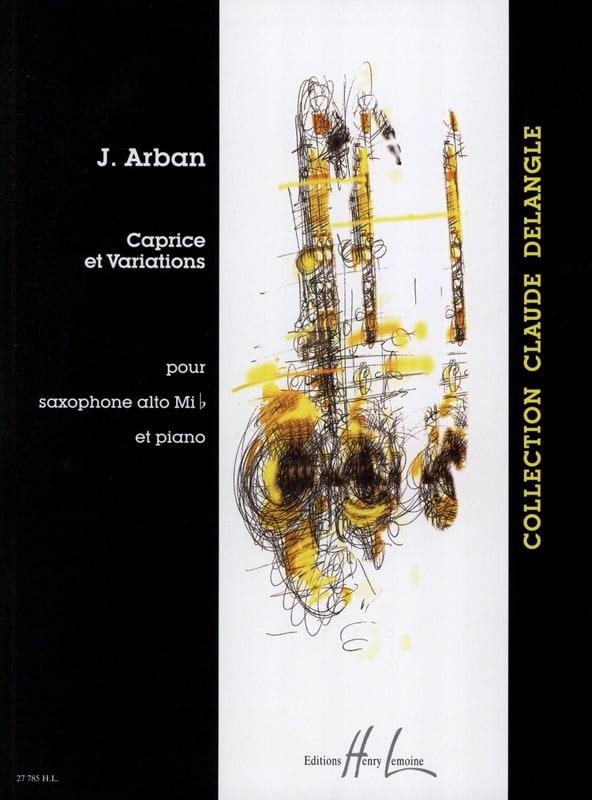 Caprice et variations - Joseph Arban - Partition - laflutedepan.com