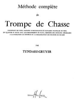 Méthode de Trompe de Chasse Tyndare-Gruyer Partition laflutedepan