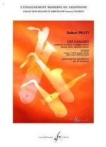 Gammes Et Modes Hubert Prati Partition Saxophone - laflutedepan