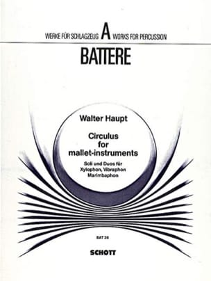 Circulus For Mallet-Instruments Walter Haupt Partition laflutedepan