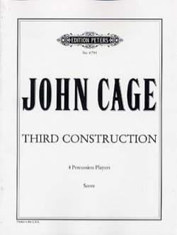 Third Construction - Score CAGE Partition laflutedepan