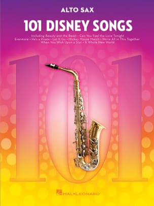101 Disney Songs DISNEY Partition Saxophone - laflutedepan