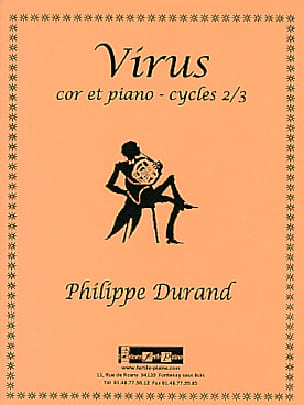 Virus - Philippe Durand - Partition - Cor - laflutedepan.com