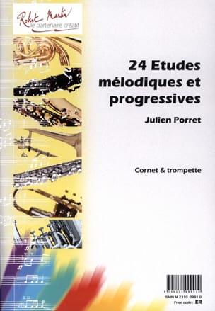 24 Etudes Mélodiques Et Progressives Julien Porret laflutedepan