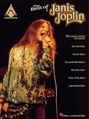 The Best Of Guitare Janis Joplin Partition Pop / Rock - laflutedepan