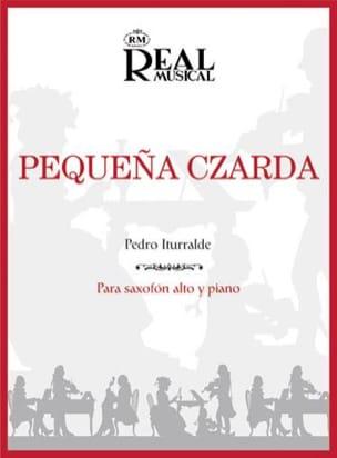 Pequena Czarda Pedro Iturralde Partition Saxophone - laflutedepan