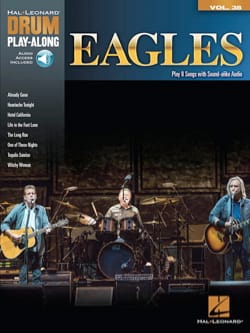 Drum Play-Along Volume 38 Eagles Eagles Partition laflutedepan