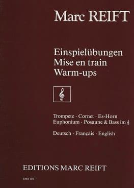 Mise en train - Marc Reift - Partition - Trompette - laflutedepan.com