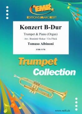 Concerto en Si Majeur ALBINONI Partition Trompette - laflutedepan