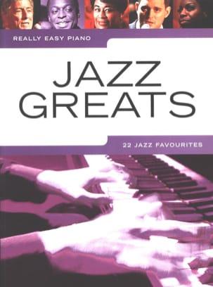 Really easy piano - Jazz greats - Partition - laflutedepan.com