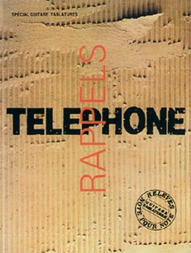Rappels Volume 1 - Téléphone - Partition - laflutedepan.com