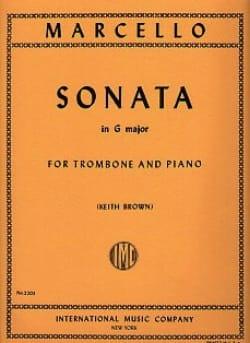 Sonate En Sol Majeur Benedetto Marcello Partition laflutedepan