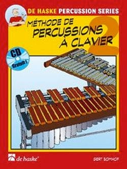 Méthode de Percussions A Clavier Volume 2 Gert Bomhof laflutedepan