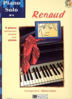 Piano Solo N° 4 - 9 pièces spécialement adaptées pour piano laflutedepan
