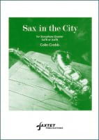 Sax in The City - Colin Crabb - Partition - laflutedepan.com