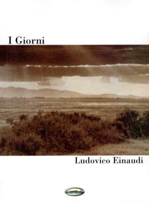 Ludovico Einaudi - I Giorni - Partition - di-arezzo.com