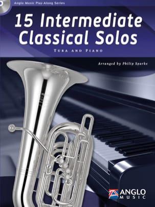 15 Intermediate Classical Solos Partition Tuba - laflutedepan