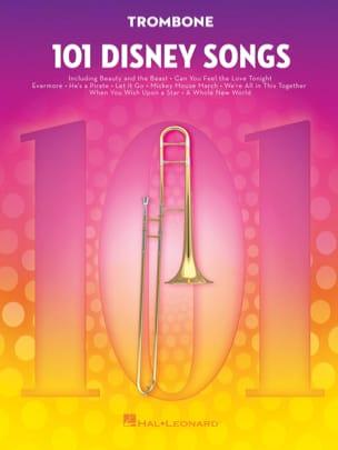 101 Disney Songs DISNEY Partition Trombone - laflutedepan
