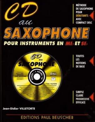 CD au saxophone Mib et Sib - Didier Villetorte - laflutedepan.com