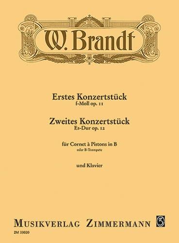 Konzertstück Opus 11 et Opus 12 - Willy Brandt - laflutedepan.com