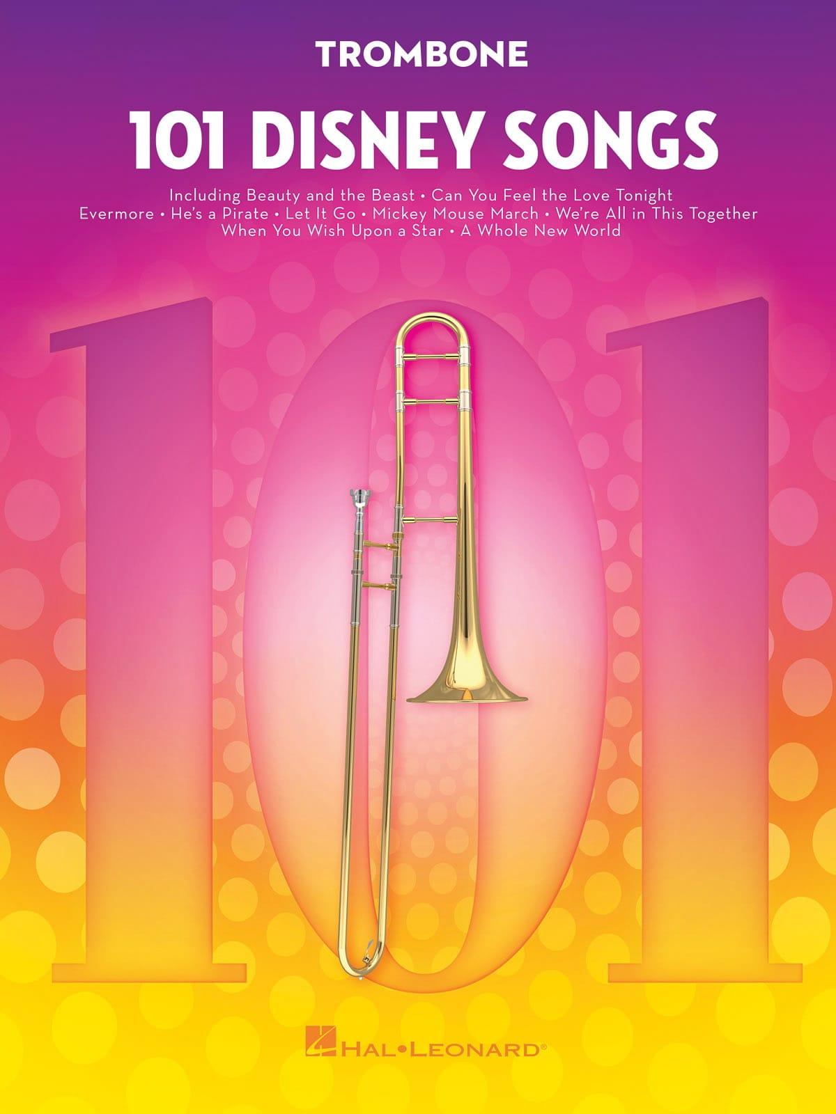101 Disney Songs - DISNEY - Partition - Trombone - laflutedepan.com