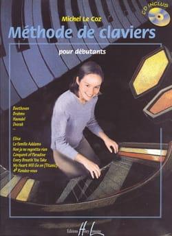 Méthode de Claviers Pour Débutants Coz Michel Le laflutedepan